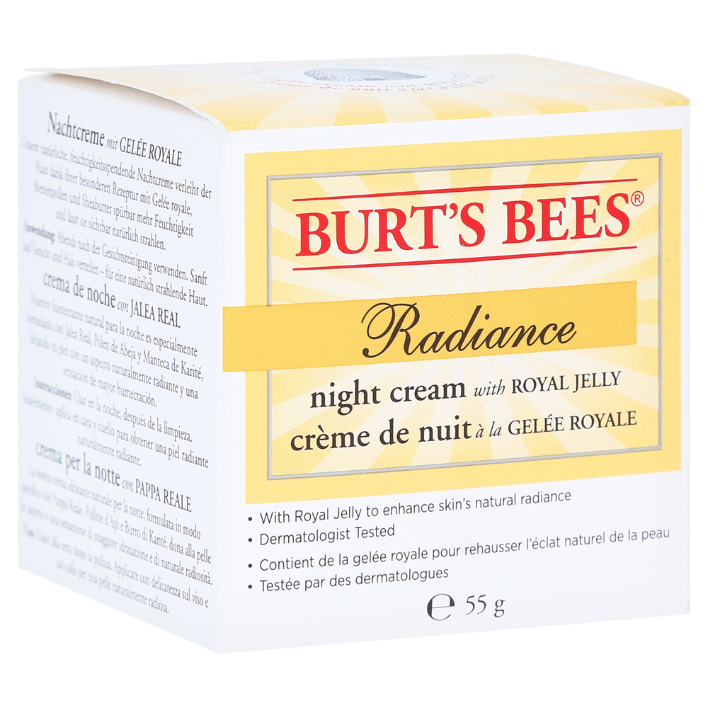 burt-s-bees-radiance-night-cream-55-gramm, 19.69 EUR @ medpex-de