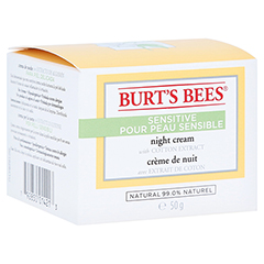BURT'S BEES Sensitive Night Cream 50 Gramm