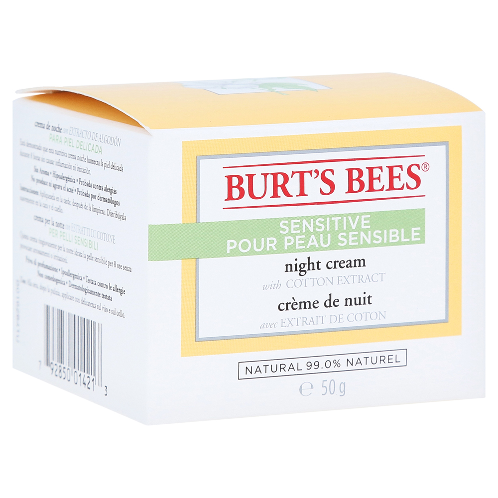 burt-s-bees-sensitive-night-cream-50-gramm, 14.99 EUR @ medpex-de