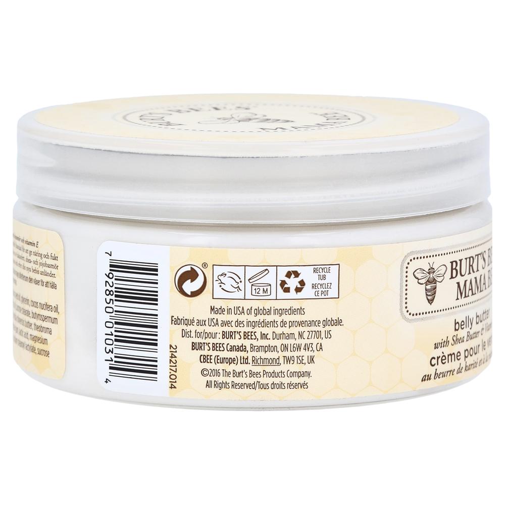 burt 39 s bees mama bee belly butter 185 gramm online bestellen medpex versandapotheke. Black Bedroom Furniture Sets. Home Design Ideas