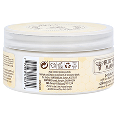 BURT'S BEES Mama Bee Belly Butter 185 Gramm - Rückseite