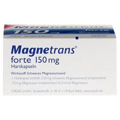 MAGNETRANS forte 150 mg Hartkapseln 50 Stück N2 - Unterseite