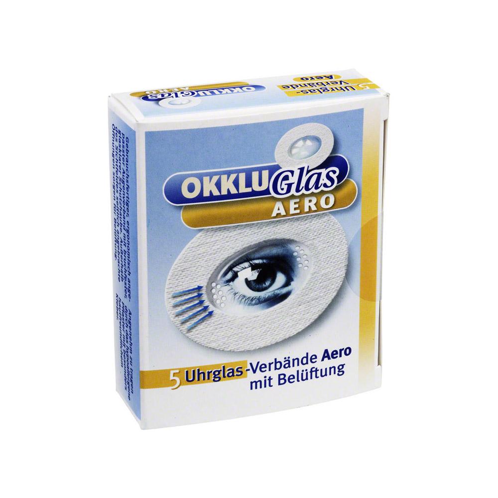 okkluglas-aero-uhrglasverband-5-stuck, 14.79 EUR @ medpex-de