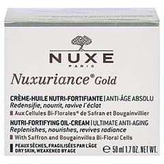 NUXE Nuxuriance Gold Kräftigende Öl-Creme 50 Milliliter - Rückseite