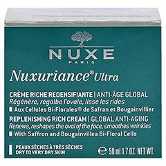 NUXE Nuxuriance Ultra Reichhaltige Creme + gratis Nuxe Super Serum 5 ml 50 Milliliter - Rückseite