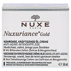 NUXE Nuxuriance Gold Kräftigende Öl-Creme 50 Milliliter - Vorderseite