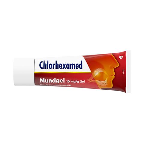 Chlorhexamed Mundgel 10mg/g 50 Gramm