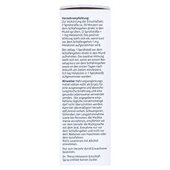 DR.THEISS Melatonin Einschlaf-Spray NEM 50 Milliliter - Linke Seite