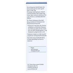 DR.THEISS Melatonin Einschlaf-Spray NEM 50 Milliliter - Rückseite