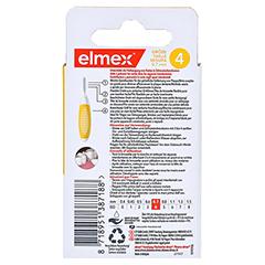 ELMEX Interdentalbürsten ISO Gr.4 0,7 mm gelb 8 Stück - Rückseite