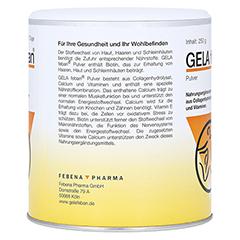 GELA FEBAN Pulver m.Gelatinehydrolysat plus 250 Gramm - Linke Seite