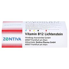 Vitamin B12 1.000 µg Lichtenstein Ampullen 5x1 Milliliter N1 - Unterseite