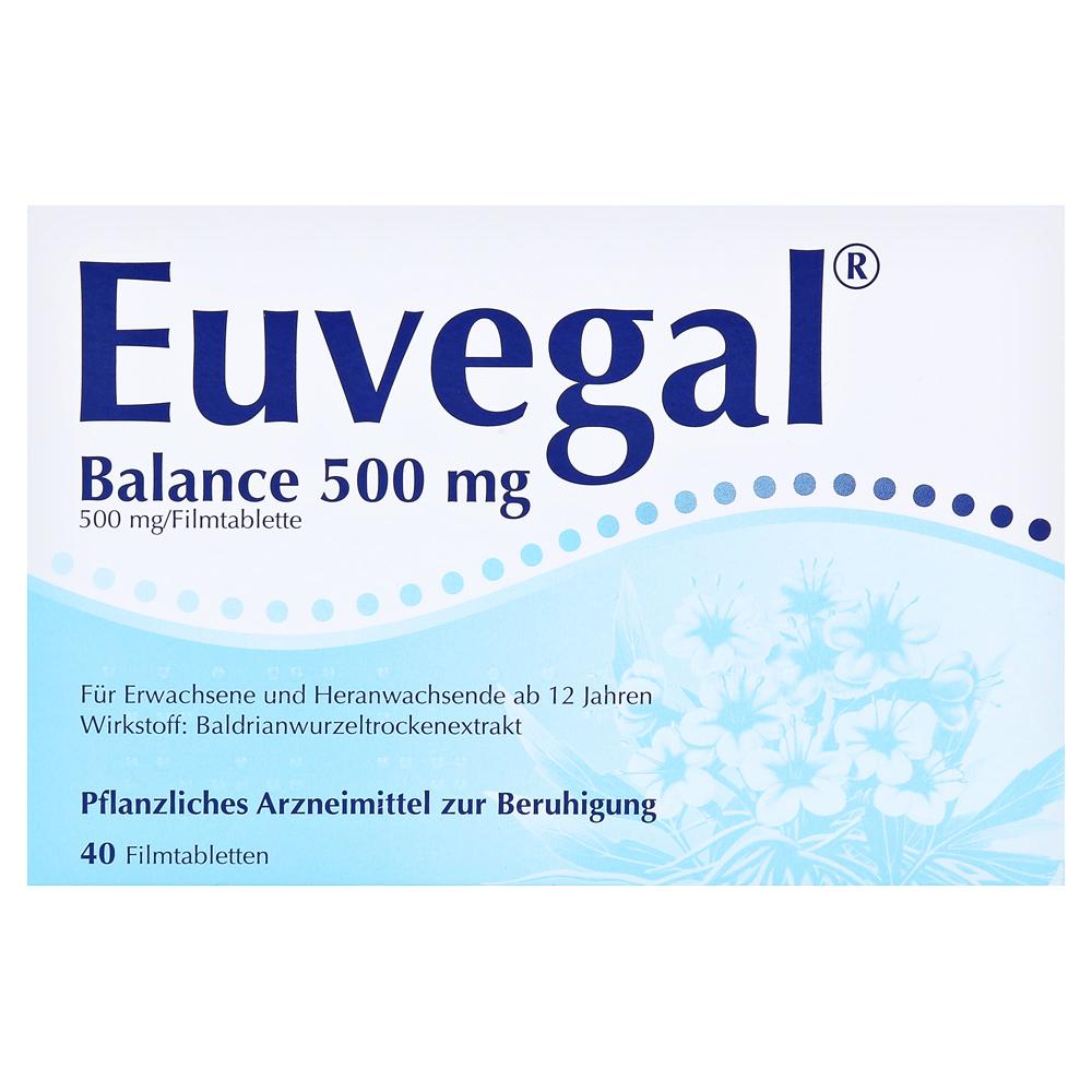 Erfahrungen zu Euvegal Balance 500mg 40 Stück - medpex
