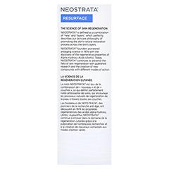 NEOSTRATA Creme 15 AHA plus 40 Milliliter - Linke Seite