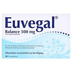 Euvegal Balance 500mg 40 Stück - Vorderseite