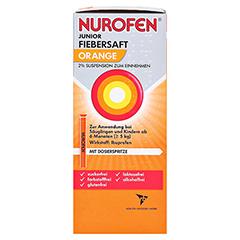 Nurofen Junior Fiebersaft Orange 2% 150 Milliliter N2 - Rechte Seite