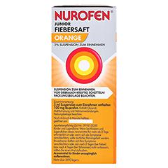 Nurofen Junior Fiebersaft Orange 2% 150 Milliliter N2 - Linke Seite