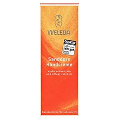 WELEDA Sanddorn Handcreme 50 Milliliter - Vorderseite
