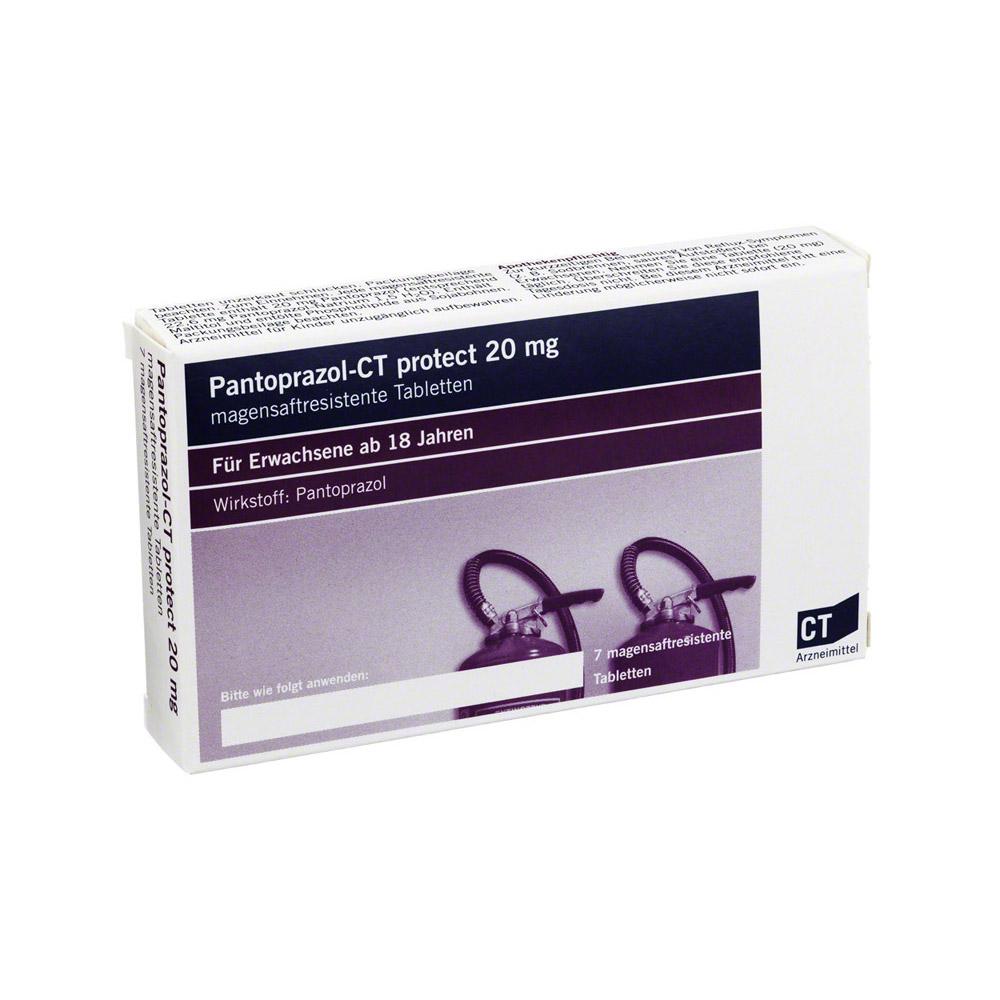 pantoprazol ct protect 20 mg magensaftr tabletten 7 st ck. Black Bedroom Furniture Sets. Home Design Ideas