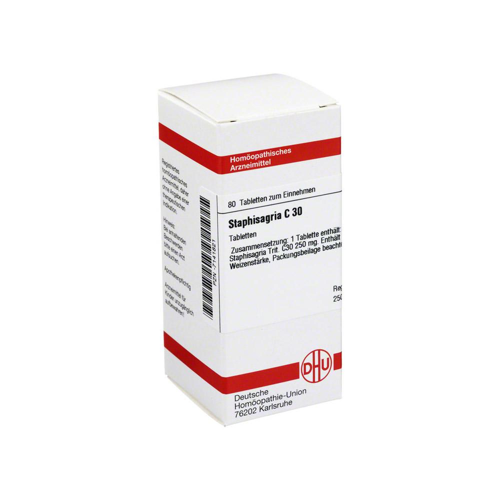 staphisagria-c-30-tabletten-80-stuck, 8.69 EUR @ medpex-de