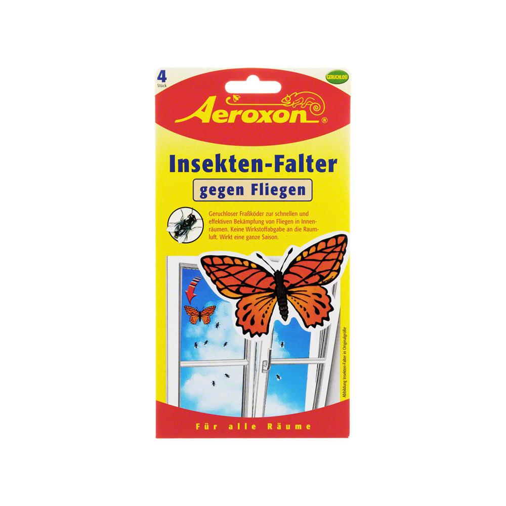 AEROXON Insekten Falter 4 Stück