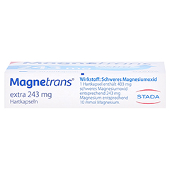 Magnetrans extra 243mg 20 Stück N1 - Unterseite