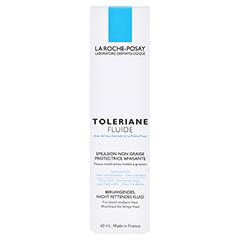 ROCHE POSAY Toleriane Fluid Feuchtigkeitspflege + gratis La Roche Posay Mascara 40 Milliliter - Vorderseite