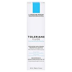 ROCHE POSAY Toleriane Fluid Feuchtigkeitspflege + gratis La Roche Posay Mascara 40 Milliliter - Rückseite