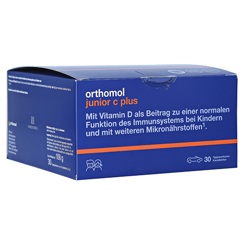 orthomol junior C plus Mandarine 30 Stück