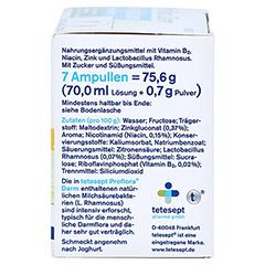 TETESEPT Proflora Darm Trinkampullen 7 Stück - Rechte Seite