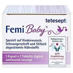 Tetesept Femi Baby Filmtabletten + Weichkapseln 2x30 Stück - Rechte Seite