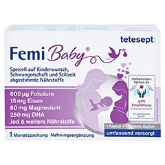 Tetesept Femi Baby Filmtabletten + Weichkapseln 2x30 Stück - Vorderseite