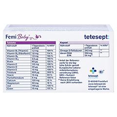 Tetesept Femi Baby Filmtabletten + Weichkapseln 2x30 Stück - Oberseite