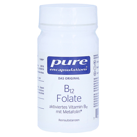 pure encapsulations B12 Folate 90 Stück