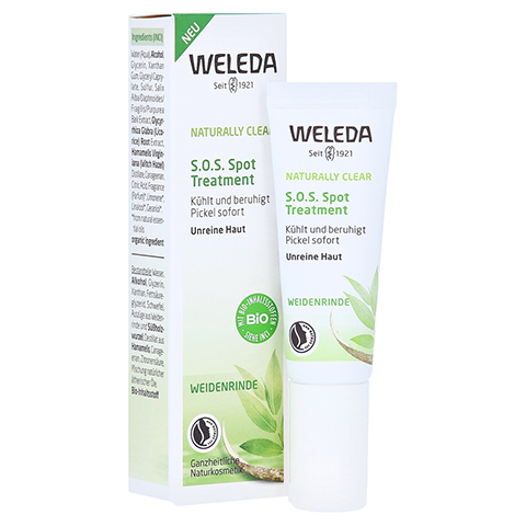 WELEDA NATURALLY CLEAR S.O.S. Spot Treatment 10 Milliliter