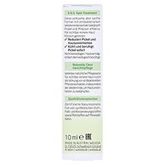 WELEDA NATURALLY CLEAR S.O.S. Spot Treatment 10 Milliliter - Rückseite
