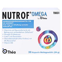 Nutrof Omega Kapseln 3x30 Stück - Vorderseite