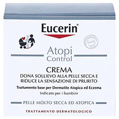 Eucerin AtopiControl Creme + gratis Eucerin AtopiControl Anti-Juckreiz Spray 50 ml 75 Milliliter - Rückseite