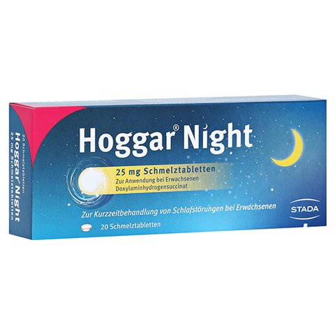 Hoggar Night 25mg 20 Stück