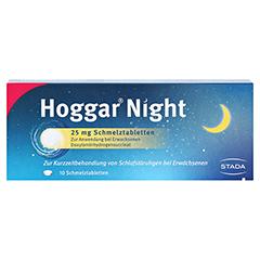 Hoggar Night 25mg 10 Stück - Vorderseite