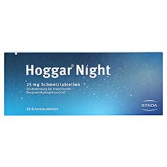 Hoggar Night 25mg 20 Stück - Rückseite