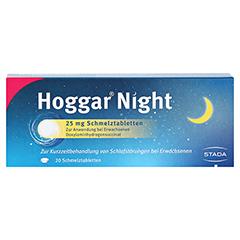 Hoggar Night 25mg 20 Stück - Vorderseite