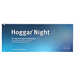 Hoggar Night 25mg 10 Stück - Rückseite