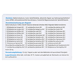MIKROBIOM-Intercell Hartkapseln 30 Stück - Rückseite