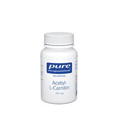 PURE ENCAPSULATIONS Acetyl L Carnitin 250mg Kaps. 60 Stück