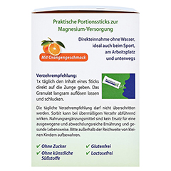 MAGNESIUM 400 direkt Orange Portionssticks 50x2.1 Gramm - Linke Seite