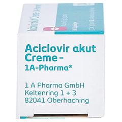 Aciclovir akut Creme-1A Pharma 2 Gramm N1 - Linke Seite