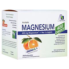 Magnesium 400 Direkt Orange Portionssticks 100x2.1 Gramm
