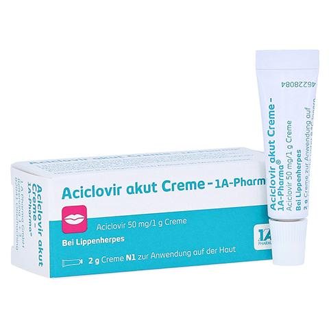 Aciclovir akut Creme-1A Pharma 2 Gramm N1