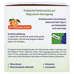 Magnesium 400 Direkt Orange Portionssticks 100x2.1 Gramm - Linke Seite